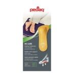 Ортопедическая мягкая полустелька для закрытой модельной обуви на каблуке DE LUXE, арт 123