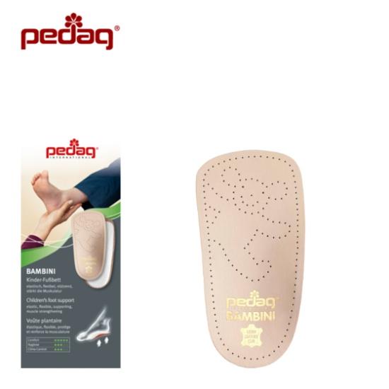 Детская ортопедическая каркасная полустелька-супинатор для всех типов обуви BAMBINI