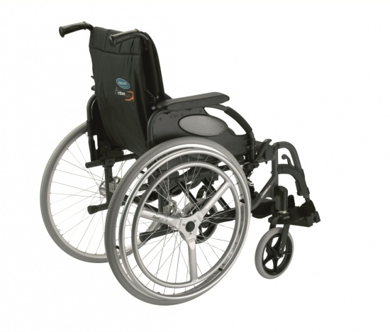 Облегченная инвалидная коляска для управления одной рукой Action 3 NG HEMI