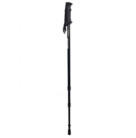 Треккинговая палка телескопическая, арт. 69N (черный)
