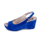 Женские босоножки, арт 505 синие