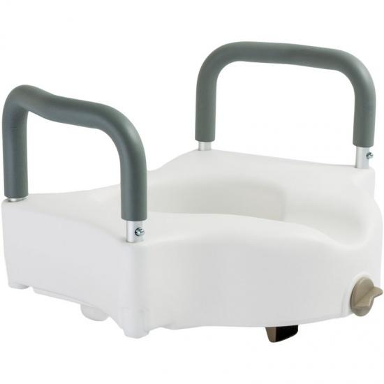 Туалетное сидение с поручнями 12205/В