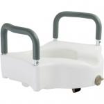 Туалетне сидіння з поручнями арт.12205/В