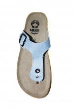 Шлепанцы женские Mubb (803-6) Голубые