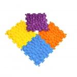 Массажный коврик 'Цветные камушки' мягкий